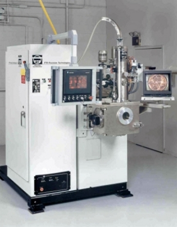Fig. 6A - Example of a moderately priced, scaled-down EBW machine.