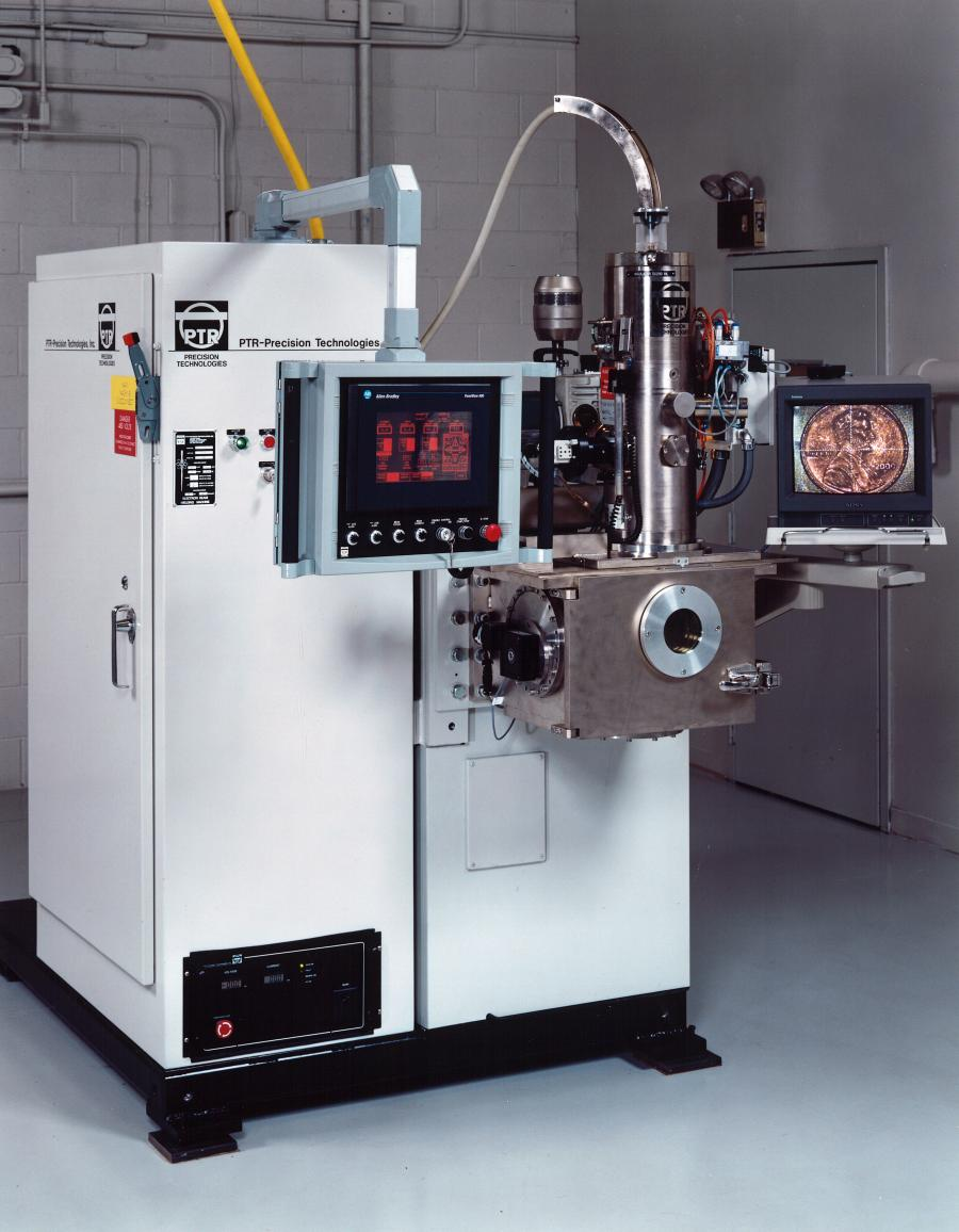 Typical small chamber EB welder.