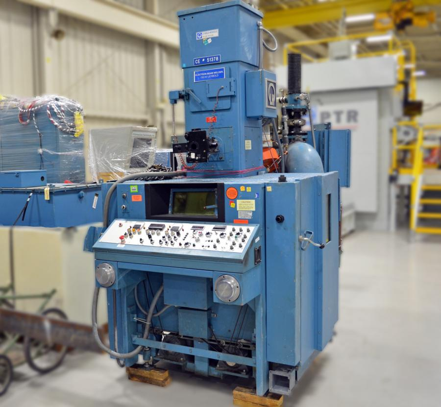 Used Electron Beam Welding Equipment Ptr Precision