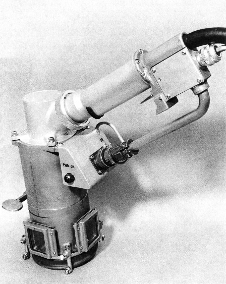 Protoype Portable Space EB Welding Gun
